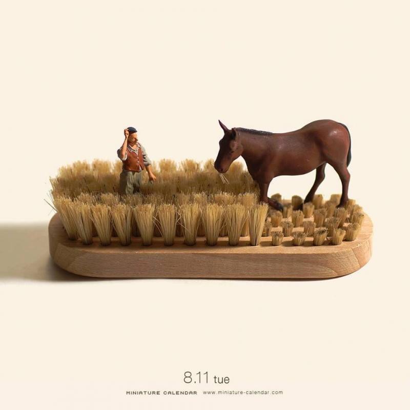 Minyatür Objelerin Sanata Dönüşümü
