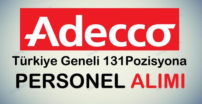 Adecco Personel Alımı İş İlanları