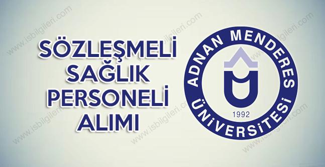 Adnan Menderes Üniversitesi lise mezunu personel alımı koşulları yayınladı