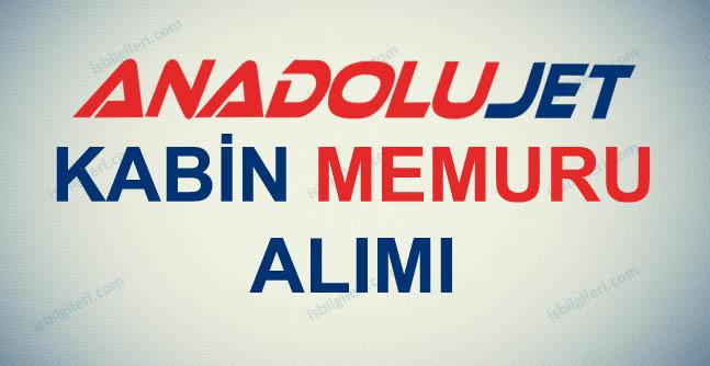 Anadolu Jet Kabin Memuru Alıyor
