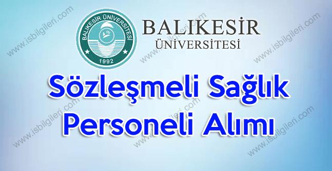 Balıkesir Üniversitesi Personel Alımına Lise mezunları Başvuru Yapabilir Mi?