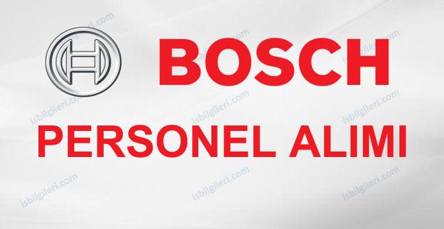 Bosch Personel Alımı İş İlanları