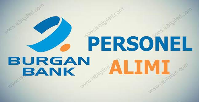 Burgan Bank Personel Eleman Alımı 2017