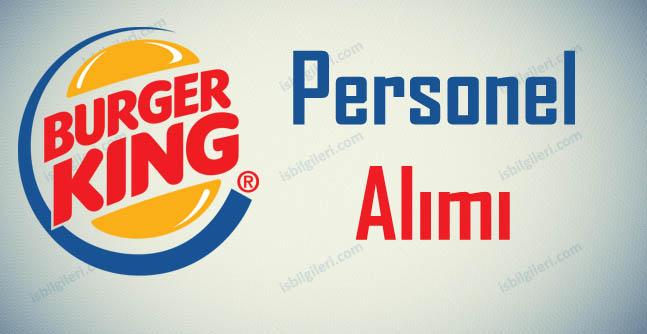 Burger King Personel Alımı İş İlanları