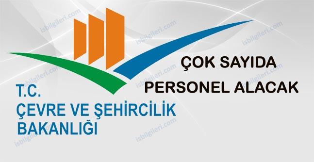 Çevre ve Şehircilik Bakanlığı Personel Alımı