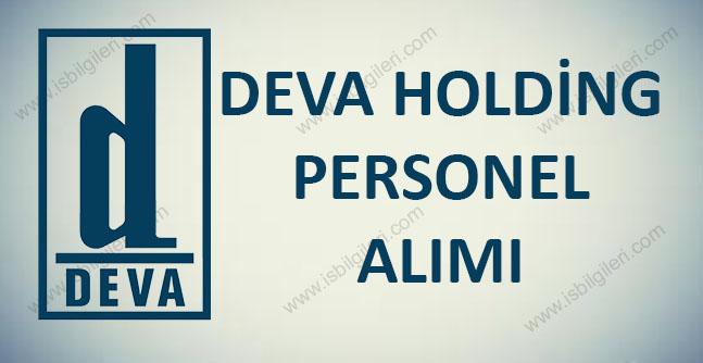 Deva Holding Personel Alımı 2017