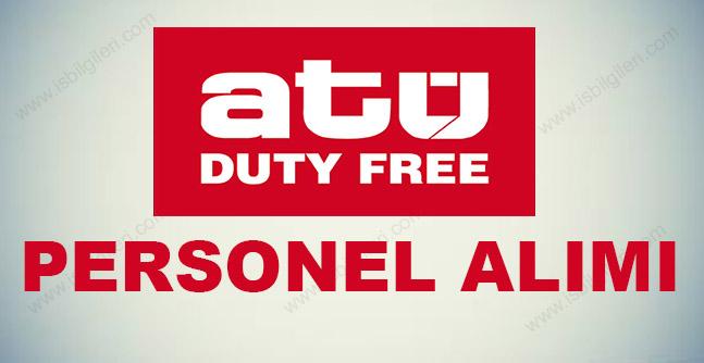 Duty Free Personel Alımı 2017