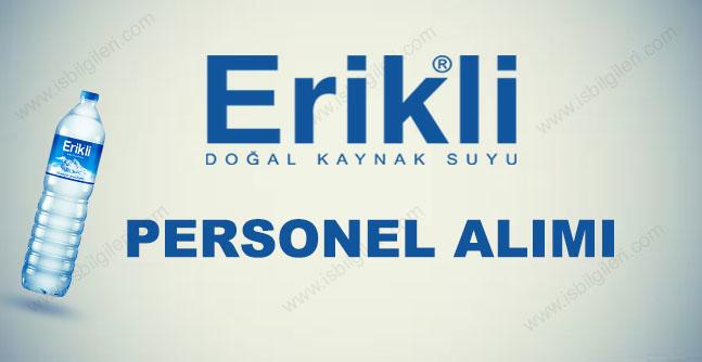 Erikli Su Personel Alımı 2017