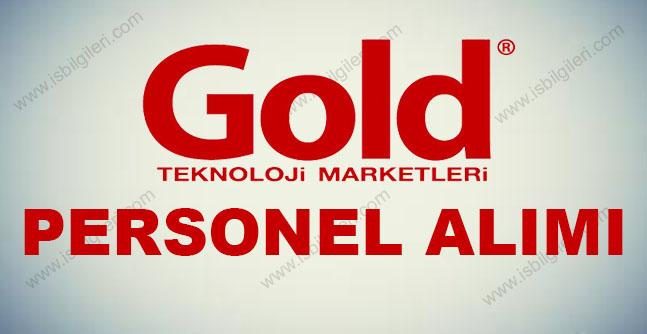 Gold Personel Alımı İş İlanı 2017