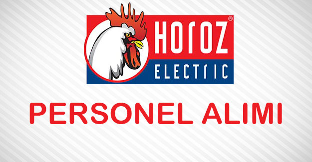 Horoz Elektrik Personel Alımı İş İlanları