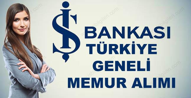 İş Bankası Memuru Alacak