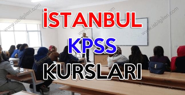 İstanbul KPSS Kursları 2018
