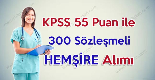 İstanbul Üniversitesi KPSS 55 puan ile 300 hemşire alımı gerçekleştiriyor