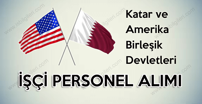 Katar ve ABD İngilizce bilen Türk personel alımı yapıyor