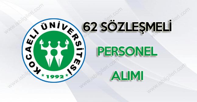 Kocaeli Üniversitesi sitesinden sağlık personeli alımı ilanı yapıldı