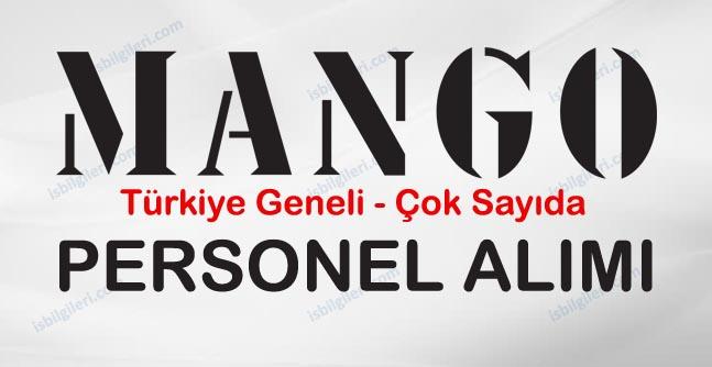 MANGO Türkiye Geneli Personel Alımı İş İlanı