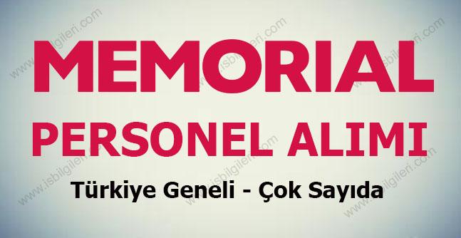 Memorial Personel Alımı 2017