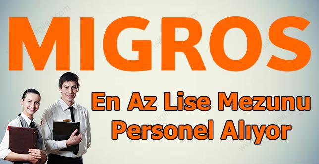 Migros Lise Mezunu Personel Alımı Yapıyor