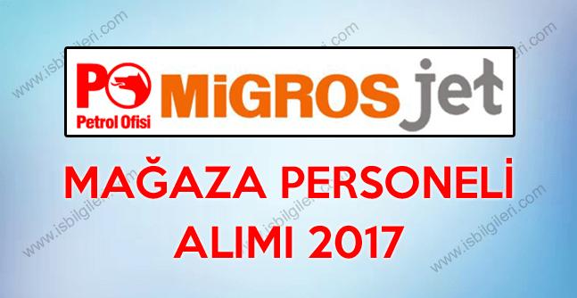 Migros PO Mjet Lise Mezunu Mağaza Personeli alımı