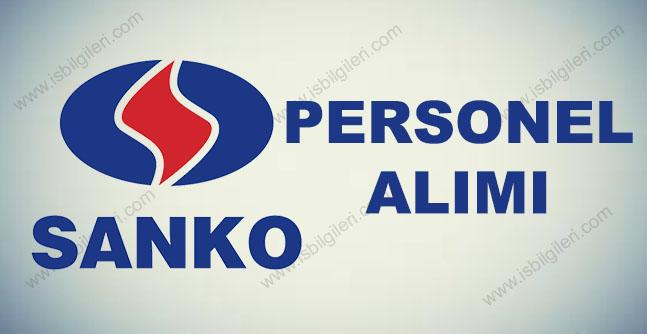 Sanko Holding Personel Alımı 2017