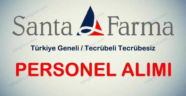 Santa Farma Türkiye Geneli Personel Alımı