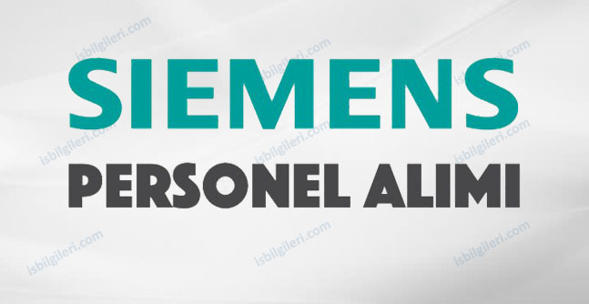 Siemens Personel Alımı Yapıyor