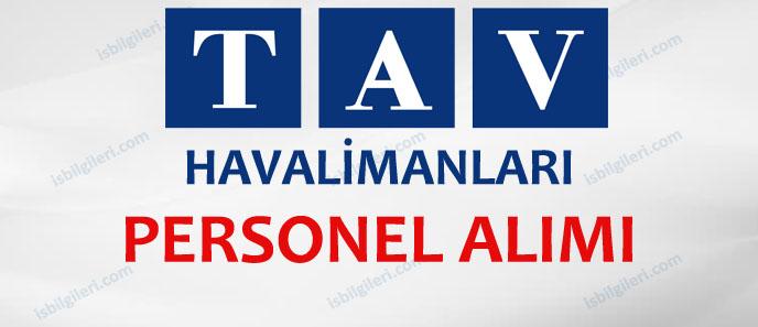 TAV Havalimanları Personel Alımı Yapacak
