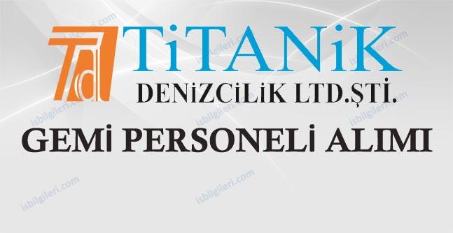 Titanik Denizcilik Personel Alımı İş İlanı