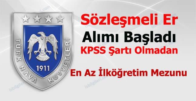 Türk Hava Kuvvetleri Sözleşmeli Er Alımı