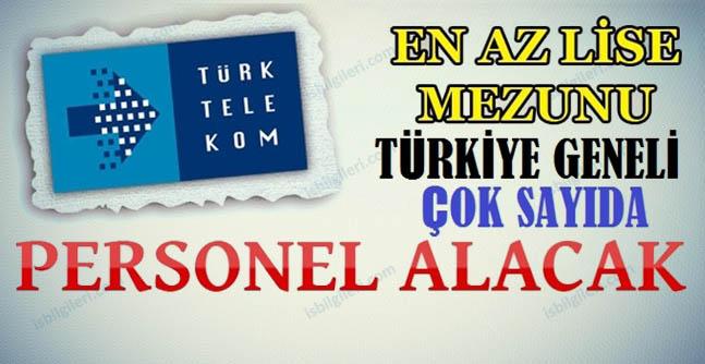 Türk Telekom 75 personel alacak