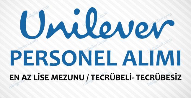 Unilever Personel Alımı İş İlanları 2016