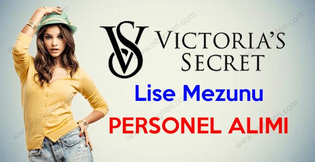 Victroria's Secret Mağazaları Personel Alımı duyurusu