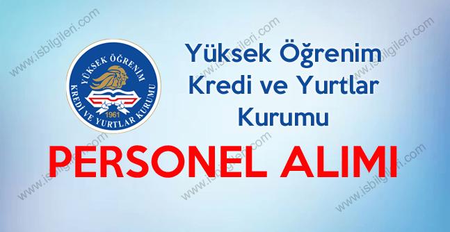 Kredi ve Yurtlar Kurumu (KYK) Türkiye Geneli 1044 Sözleşmeli Personel Alımı yapıyor