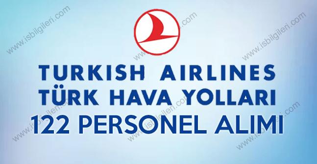 Türk Hava Yolları (THY) 122 Personel Alımı iş başvurusu 2017