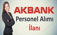 Akbank En Az Lise Mezunu Personel Alımı Yapıyor