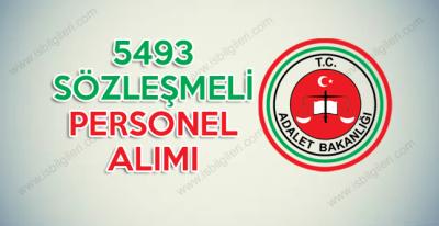 Adalet Bakanlığı 5493 Personel Alımı Kadro Dağılımları ve Başvuru Şartları