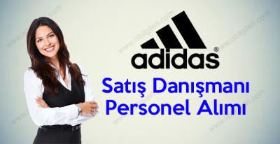Adidas Lise Mezunu Satış Danışmanı Personel alımı iş ilanı 2017