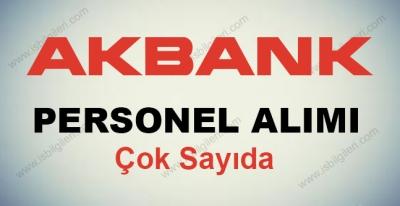 Akbank Personel Alımı 2017