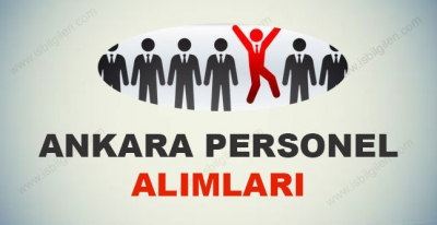Ankara Personel Aleman Alımı iş ilanları 2017