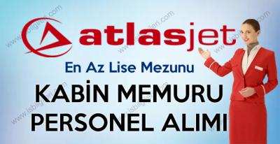 Atlasjet Kabin Memuru Uçuş Hostesi Personel Alımı iş ilanları 2017
