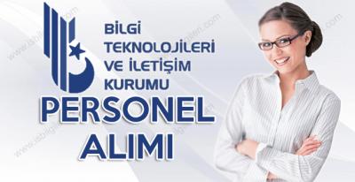 BTK Yazılı ve Sözlü Sınav ile 71 Personel Alımı yapıyor