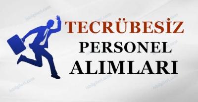 Deneyimsiz Personel Eleman Alımları