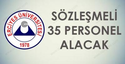 Erciyes Üniversitesi 35 Memur Alımı Yapacak