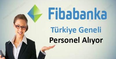 Fibabanka Önlisans Lisans Mezunu Personel Alıyor