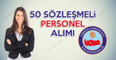 İçişleri Bakanlığı en az 3 bin 800 TL maaşlı sözleşmeli personel alımı giriş sınavı düzenliyor