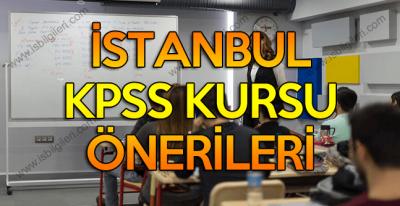 İstanbul KPSS Kursu için tercih edebileceğiniz kurumlar
