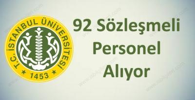 İstanbul Üniversitesi 92 Personel Alımı Yapıyor