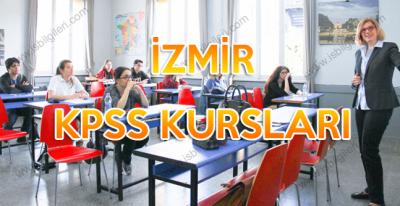 İzmir KPSS Hazırlık Kursları Adresleri ve Fiyat Bilgisi
