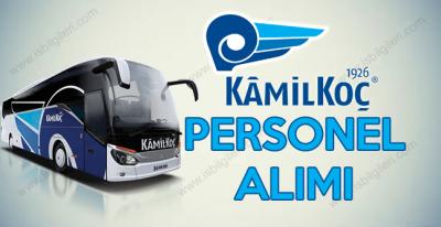 Kamil Koç Otobüsleri muavin ve büro personeli arıyor
