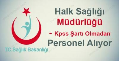 Konya Halk Sağlığı Müdürlüğü Sağlık Personeli Alıyor